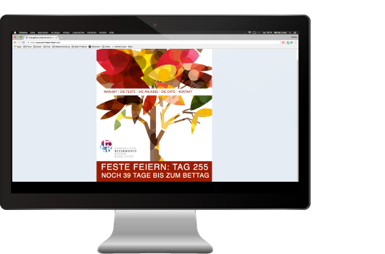ERK Feste Feiern Website